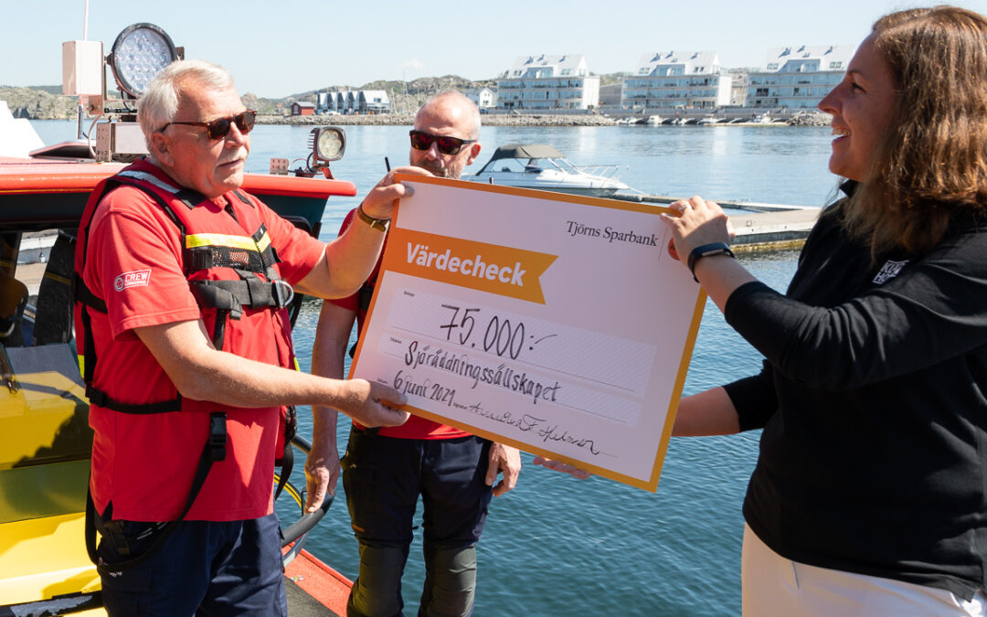 Årets Sill 2020 genererade 75.000 kronor till Sjöräddningssällskapet